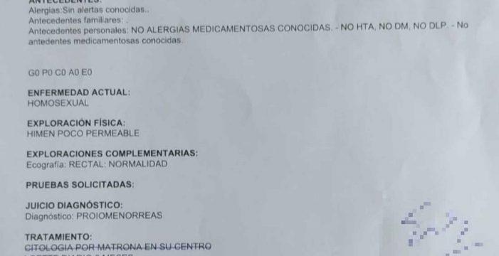 """""""Un auténtico disparate"""": un médico diagnostica como enfermedad la homosexualidad de una paciente"""