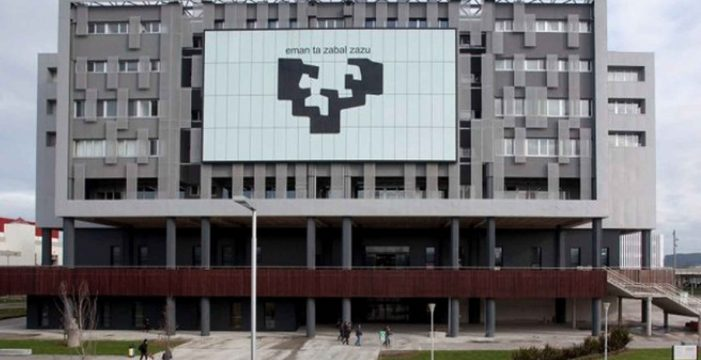 Irrumpe con una escopeta en el campus de la Universidad del País Vasco en Leioa