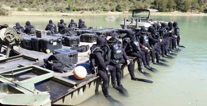 El Ejército confirma la muerte de Mario Quirós, el sargento desaparecido en un pantano de Huesca