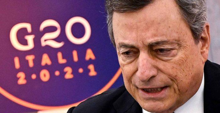 """""""Políticamente explosivo"""": Draghi estudia ilegalizar el partido neofascista Fuerza Nueva"""