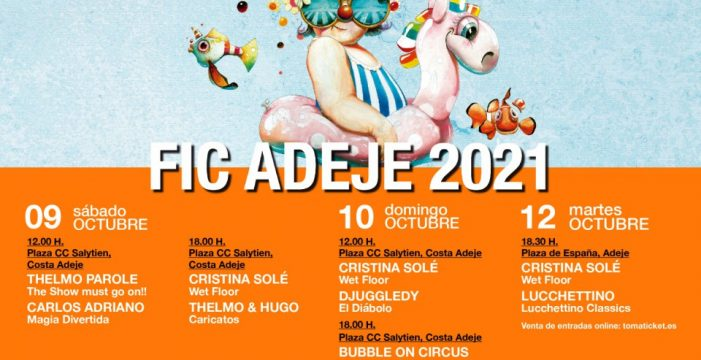 El Festival Clownbaret ofrece en Adeje 10 espectáculos al aire libre