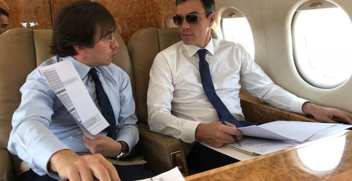 La AN quiere que Sánchez informe de sus viajes privados en medios públicos