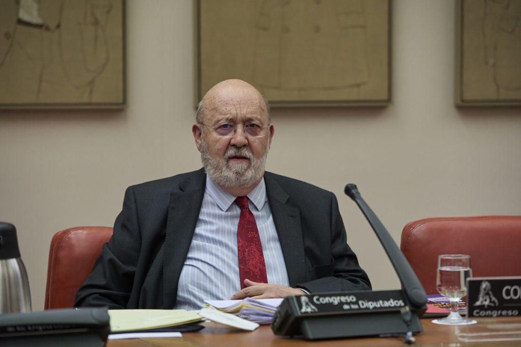 El presidente del Centro de Investigaciones Sociológicas, José Félix Tezanos, comparece en una Comisión Constitucional en el Congreso de los Diputados EUROPA PRESS
