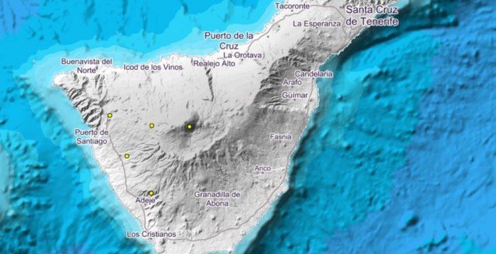El IGN registra un terremoto de 1.2 en Adeje