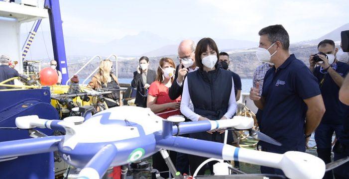El Gobierno se plantea ubicar centros de investigación en La Palma