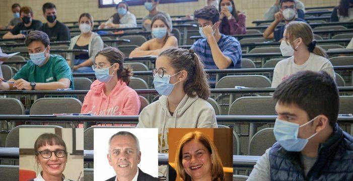 """Preocupación por la EBAU y el volcán de La Palma: """"A los alumnos les está pasando factura"""""""