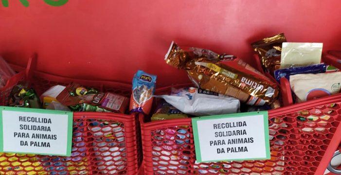 Una donación de alimentos para animales de La Palma, 'atascada' en Galicia