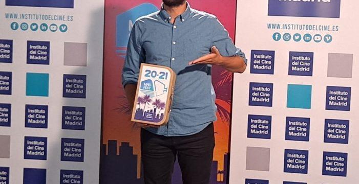 Víctor Calero obtiene el premio al mejor guion del Instituto del Cine Madrid