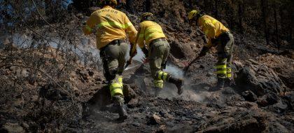 Extinguen este miércoles un incendio que fue declarado en Tenerife hace cinco meses
