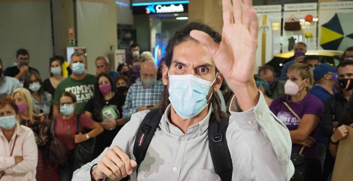 Alberto Rodríguez pide la suspensión de su condena y acusa a Batet de intromisión