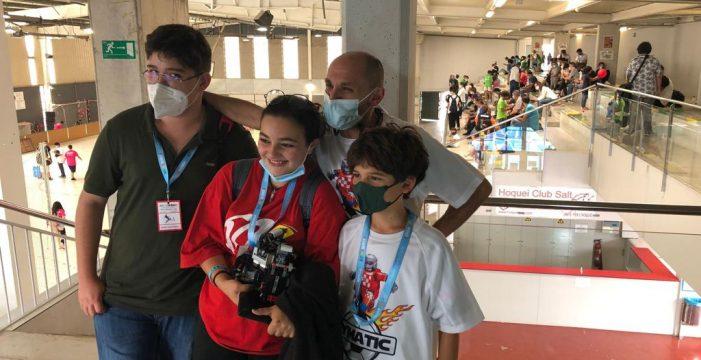 Un equipo lagunero gana el campeonato nacional de robótica WRO Spain, en la modalidad Football