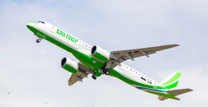 Binter reanuda los vuelos con La Palma por la mejoría del comportamiento de la nube de cenizas