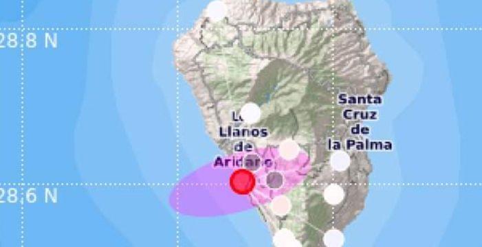 Registran un terremoto en Mazo que se ha sentido en toda la Isla