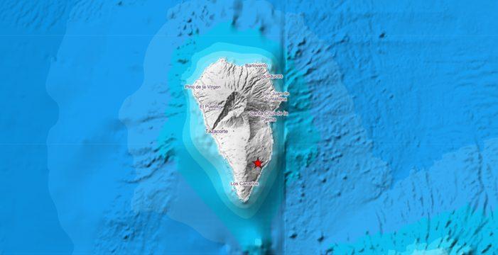 Registran un nuevo terremoto de 4.8 en Mazo
