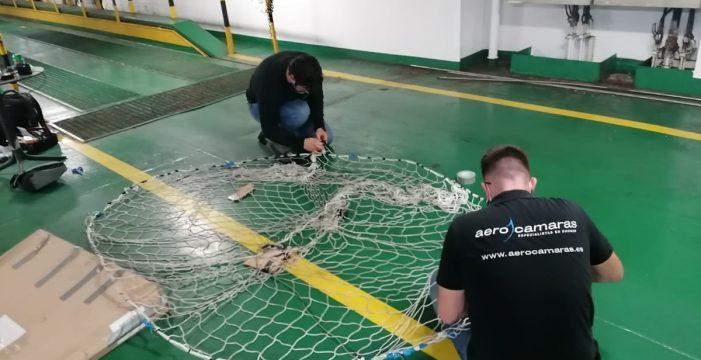 Cuenta atrás para el rescate de los perros: los pilotos realizan pruebas en La Palma