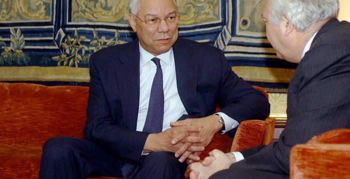 Muere a causa de la COVID-19 Colin Powell