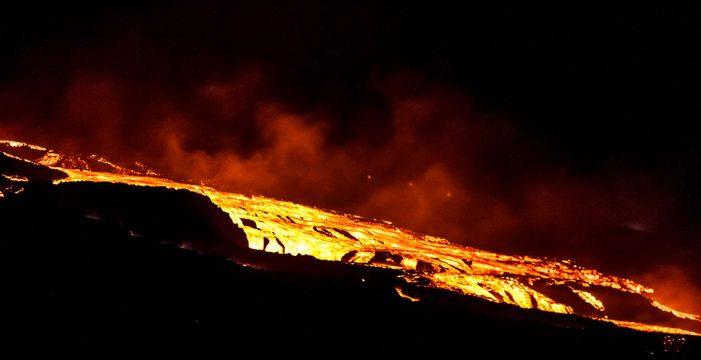 La deformación del terreno en La Palma puede deberse a un aumento del caudal de lava
