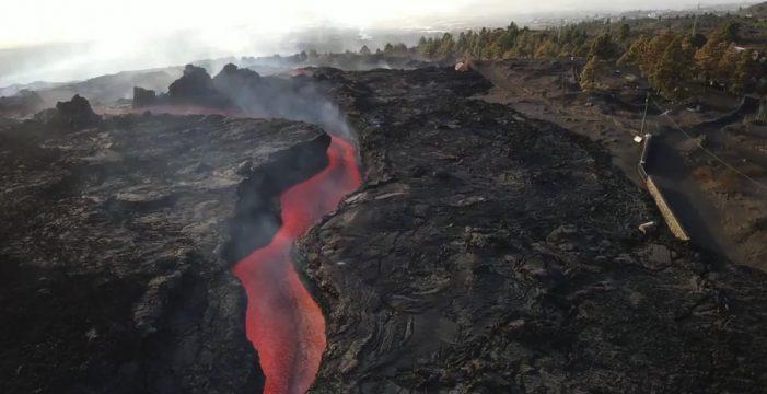 El suelo de La Palma se ha elevado 10 centímetros en las últimas 24 horas